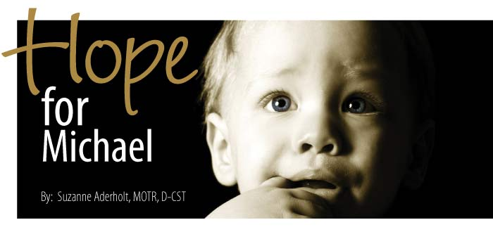 Hope for Michael Article banner