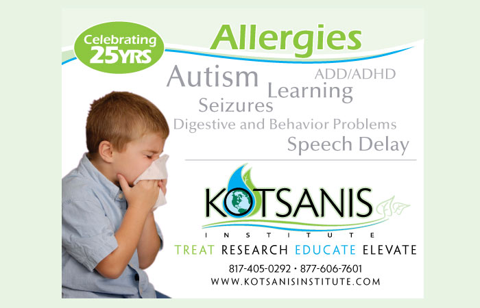 Kotsanis Institute Allergies Ad