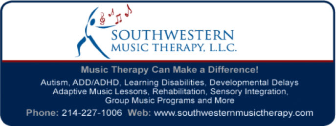 Southwestern Music Therapy Ad