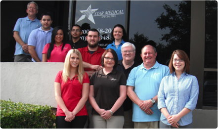 Staff Picture of Star Medical Press Release:  The Connections Project signs Star Medical Specialties as 2012 inside cover sponsor in Dallas, TX!  Star Medical Specialties steps up for the second year in a row as a leader in the Special Care Industry sponsoring over 7,000 free copies of Connections!  Dallas, TX, May 10, 2012: